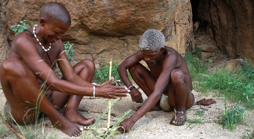 San Ureinwohner Namibia